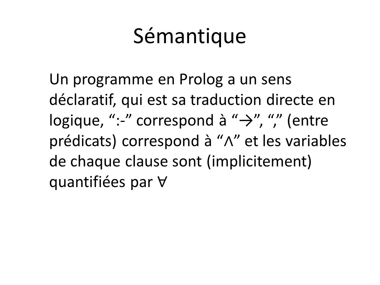 Sémantique