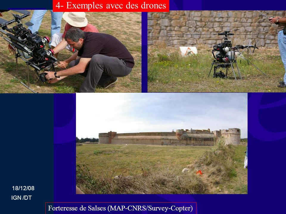 4- Exemples avec des drones