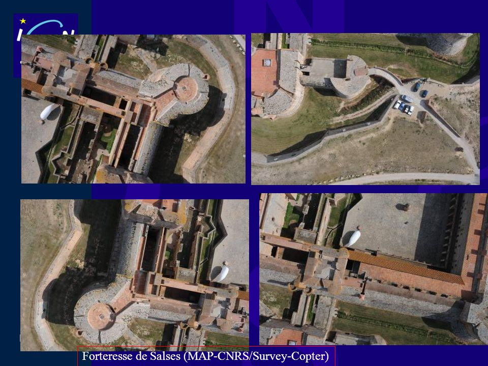 Forteresse de Salses (MAP-CNRS/Survey-Copter)