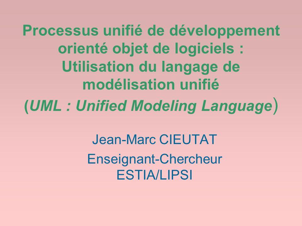 Jean-Marc CIEUTAT Enseignant-Chercheur ESTIA/LIPSI