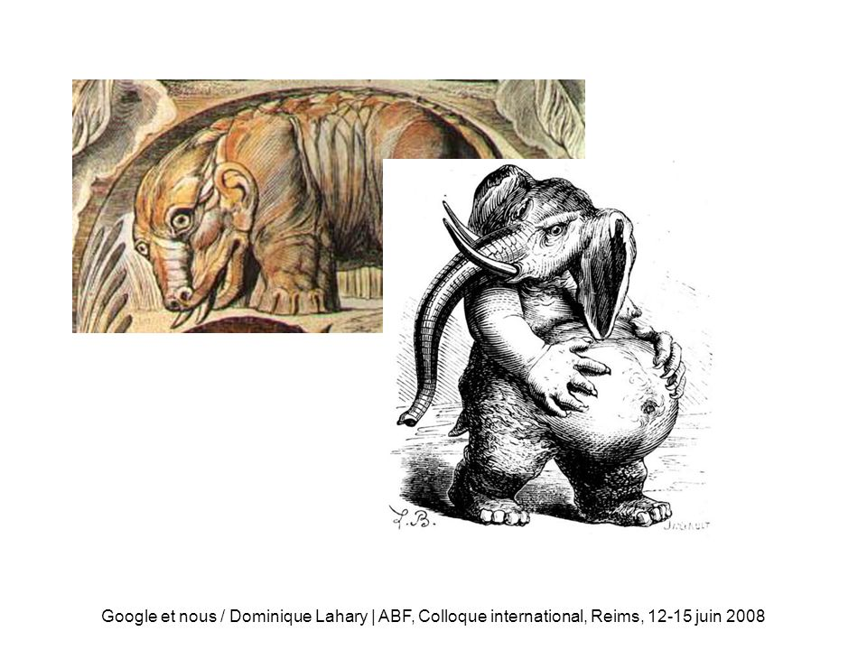 Béhémoth Google et nous / Dominique Lahary | ABF, Colloque international, Reims, 12-15 juin 2008