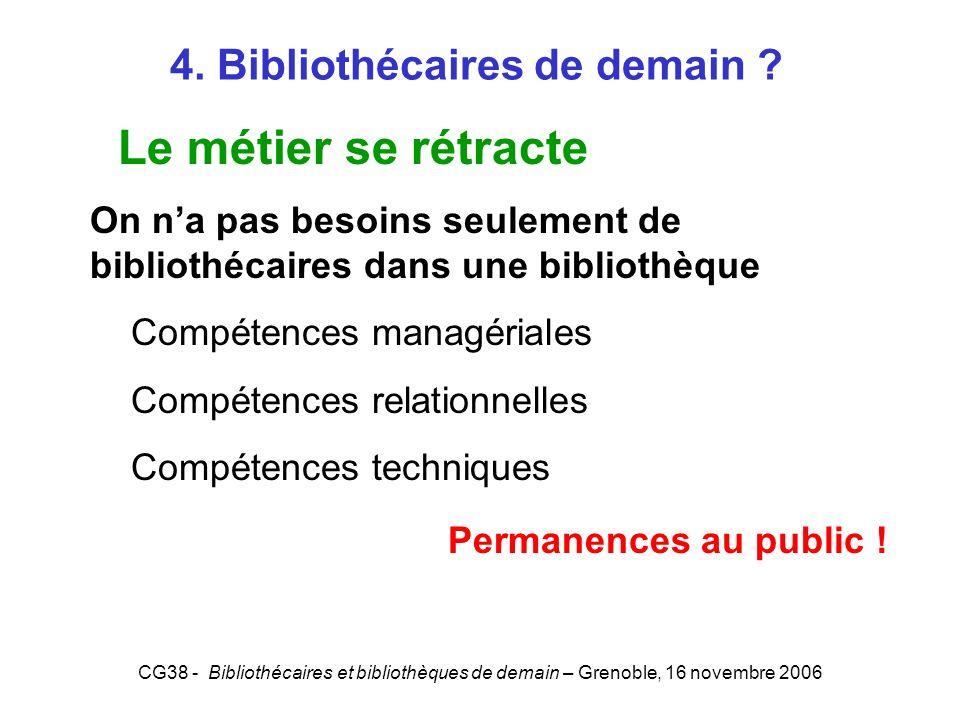 4. Bibliothécaires de demain