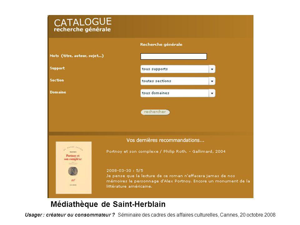 StHerblain Médiathèque de Saint-Herblain