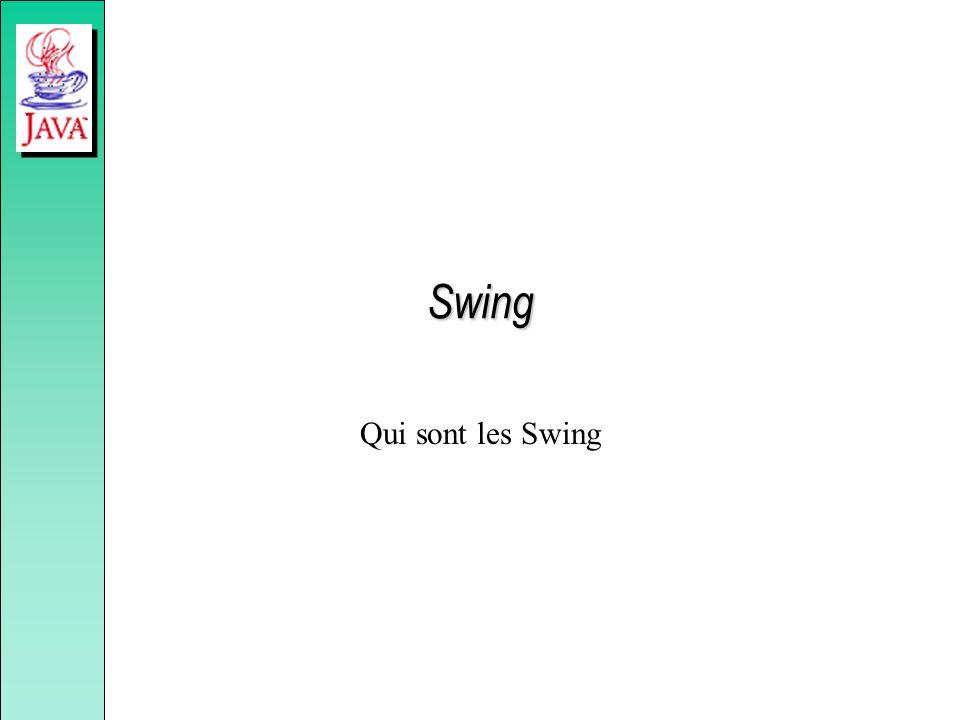 Swing Qui sont les Swing