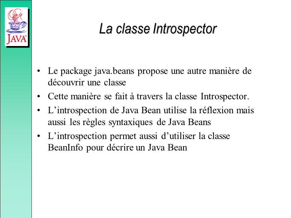 La classe Introspector
