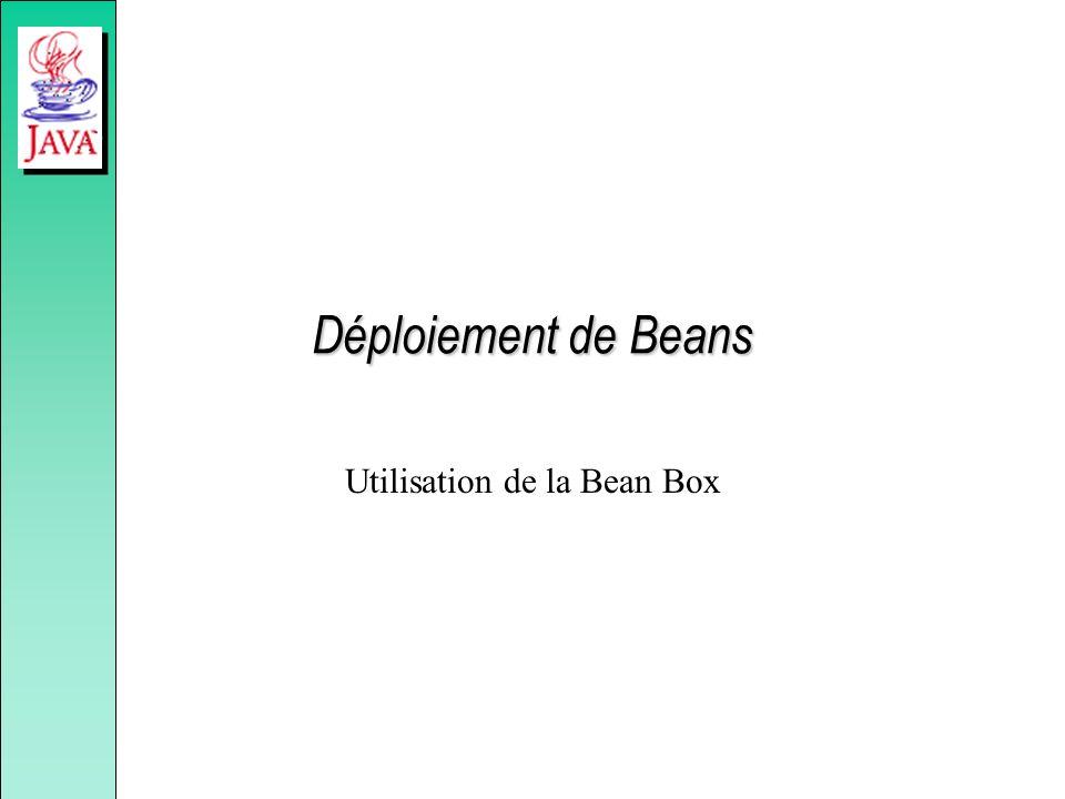 Utilisation de la Bean Box