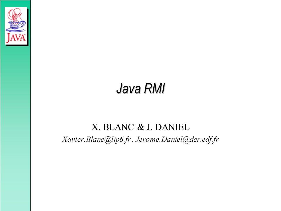 X. BLANC & J. DANIEL Xavier.Blanc@lip6.fr , Jerome.Daniel@der.edf.fr