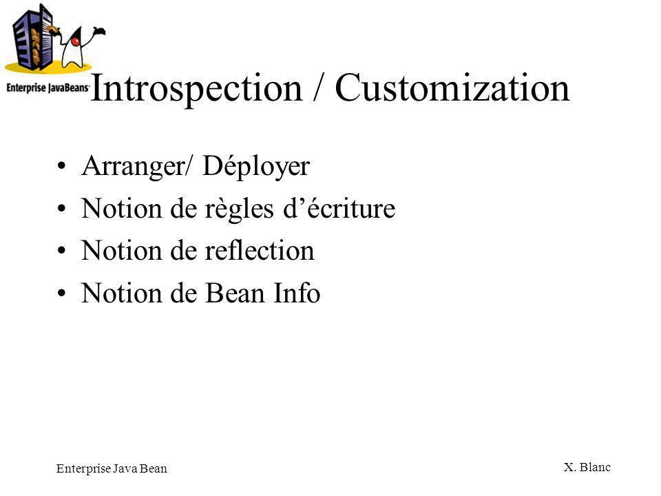 Introspection / Customization