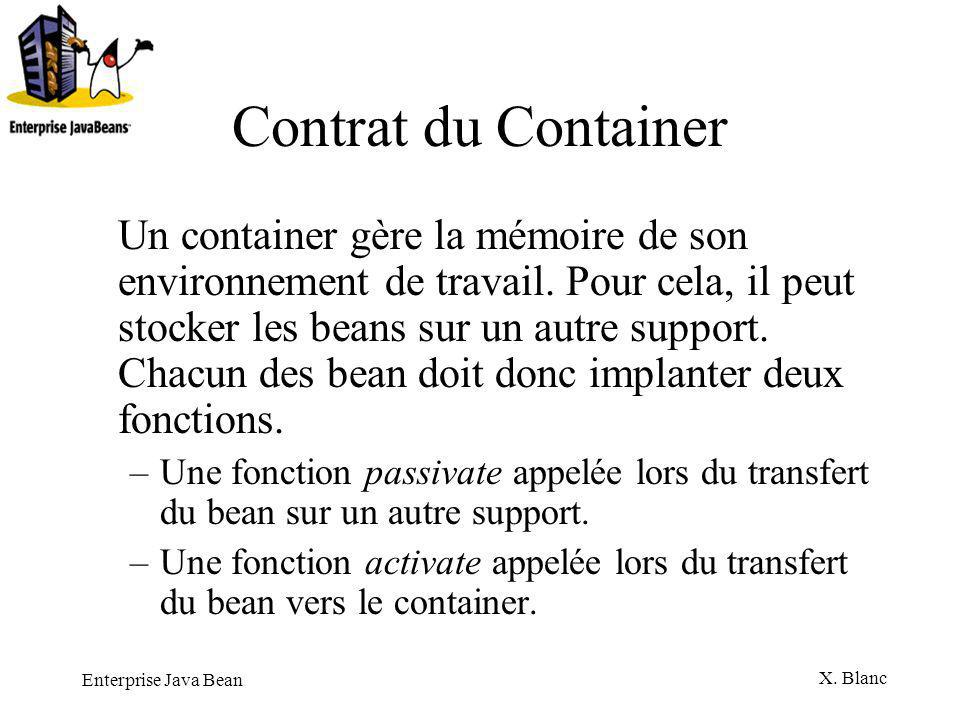 Contrat du Container