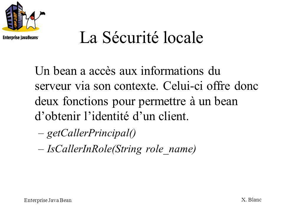 La Sécurité locale