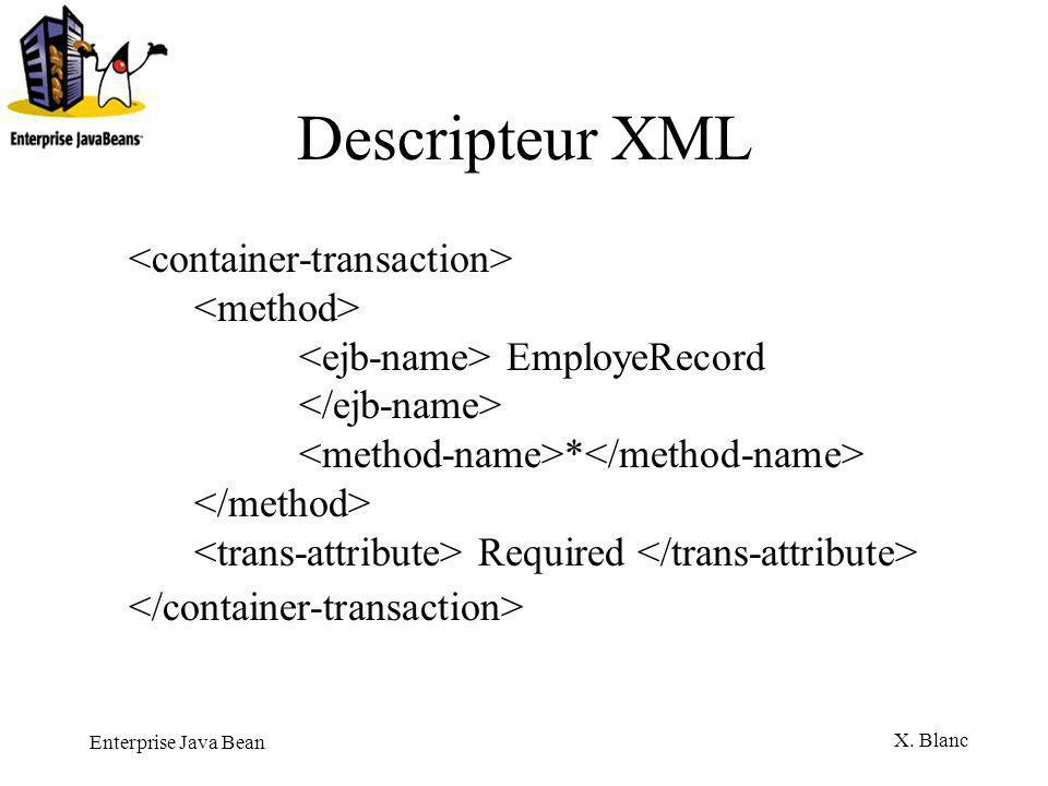Descripteur XML