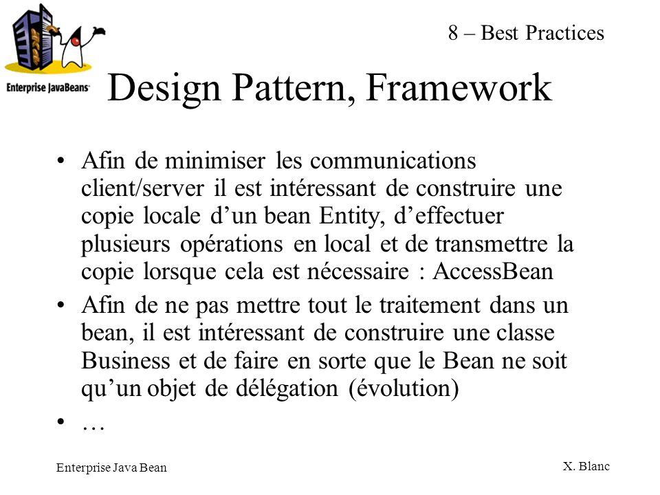 Design Pattern, Framework