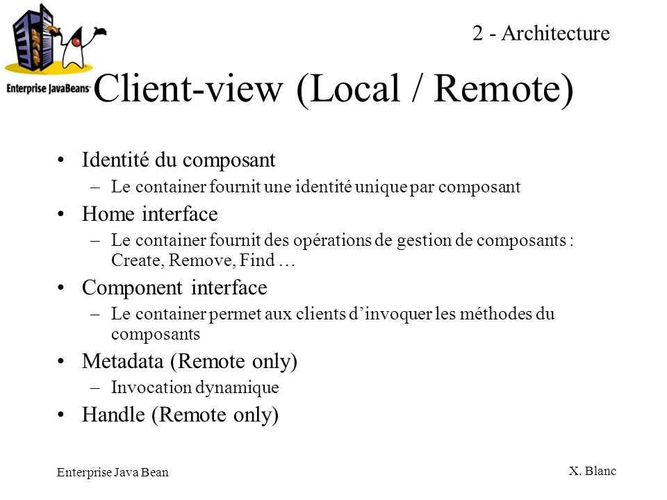 Client-view (Local / Remote)
