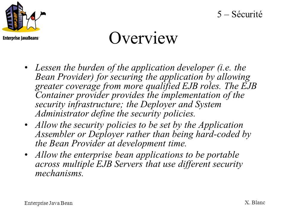 5 – SécuritéOverview.
