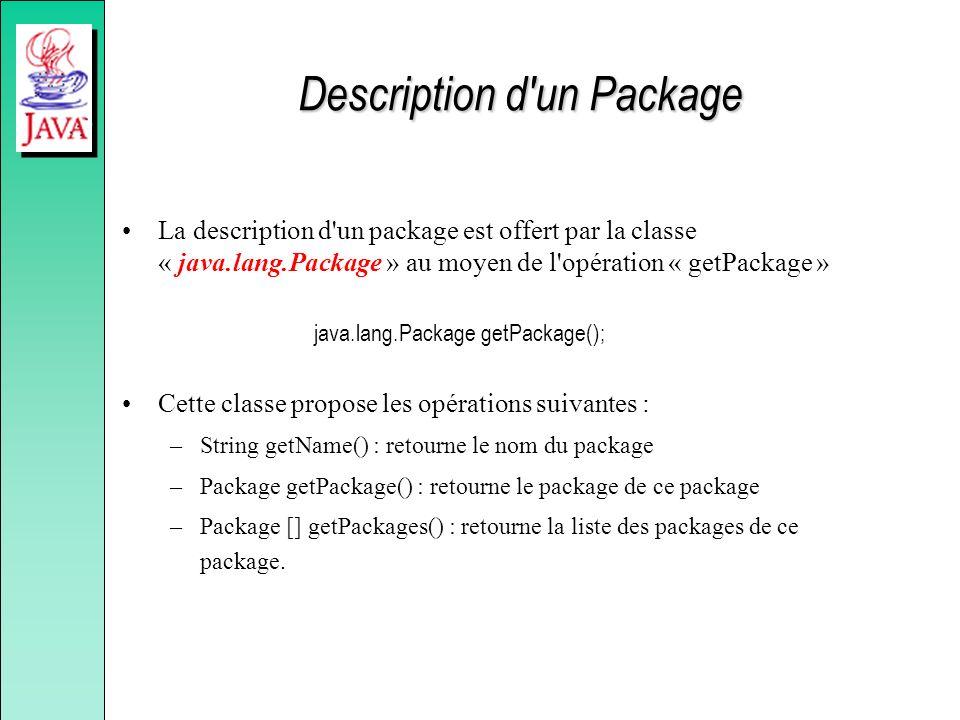 Description d un Package