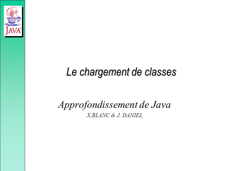 Le chargement de classes