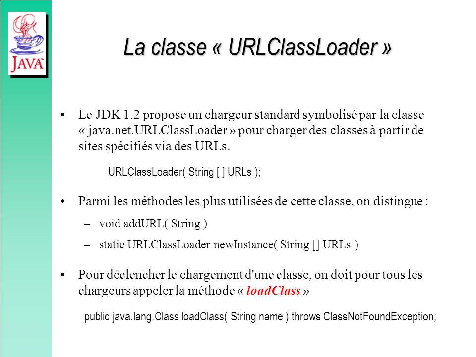 La classe « URLClassLoader »