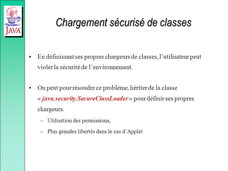 Chargement sécurisé de classes