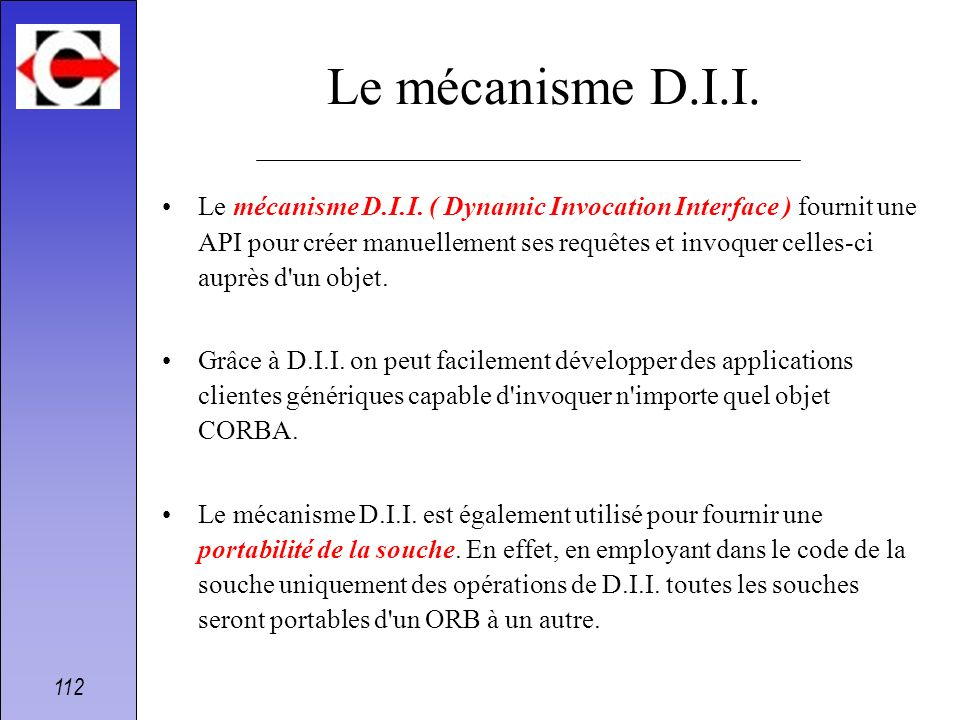 Le mécanisme D.I.I.