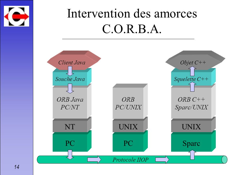 Intervention des amorces C.O.R.B.A.