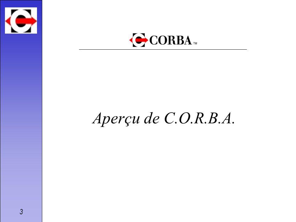 Aperçu de C.O.R.B.A.