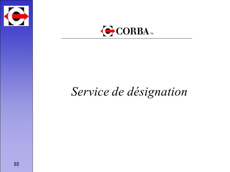 Service de désignation