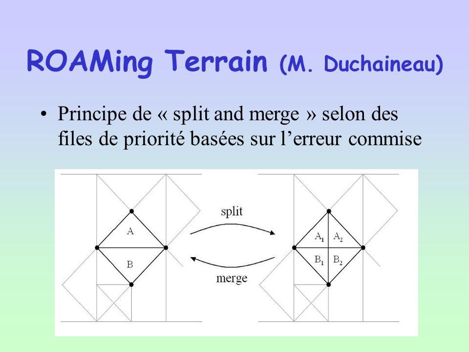 ROAMing Terrain (M. Duchaineau)