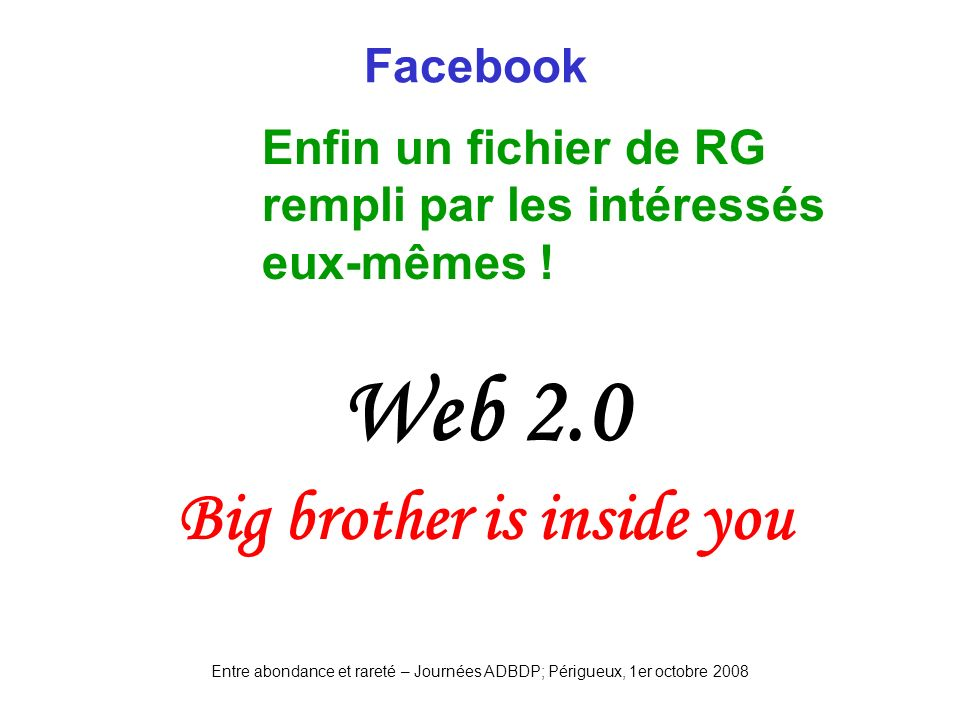 Big brother is inside you