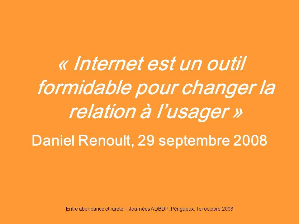 Daniel Renoult, 29 septembre 2008