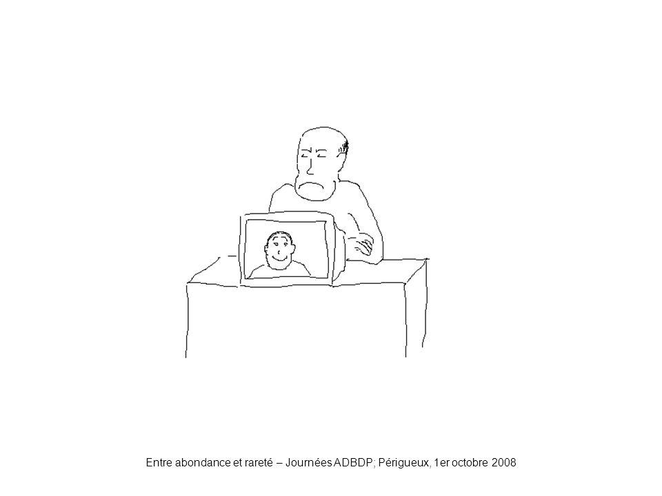 Nouvellerelation Entre abondance et rareté – Journées ADBDP; Périgueux, 1er octobre 2008