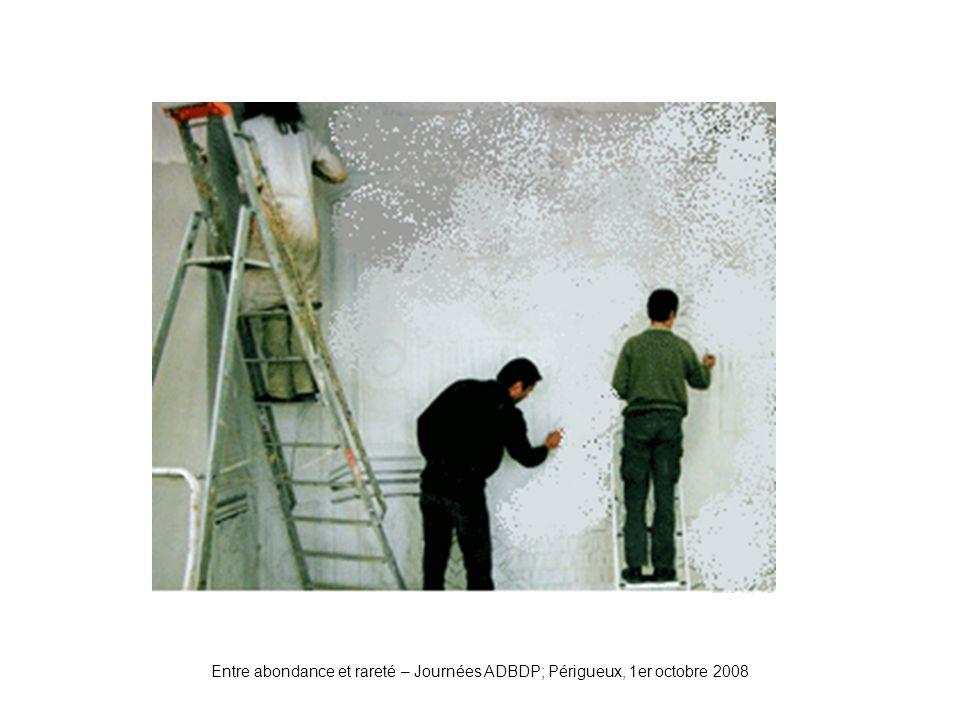 Plâtre Entre abondance et rareté – Journées ADBDP; Périgueux, 1er octobre 2008