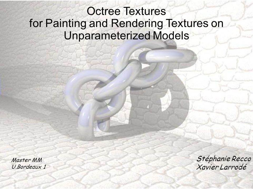 for Painting and Rendering Textures on Unparameterized Models