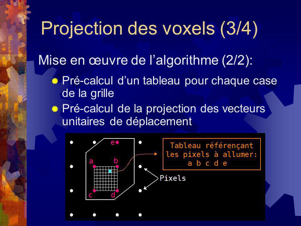 Projection des voxels (3/4)