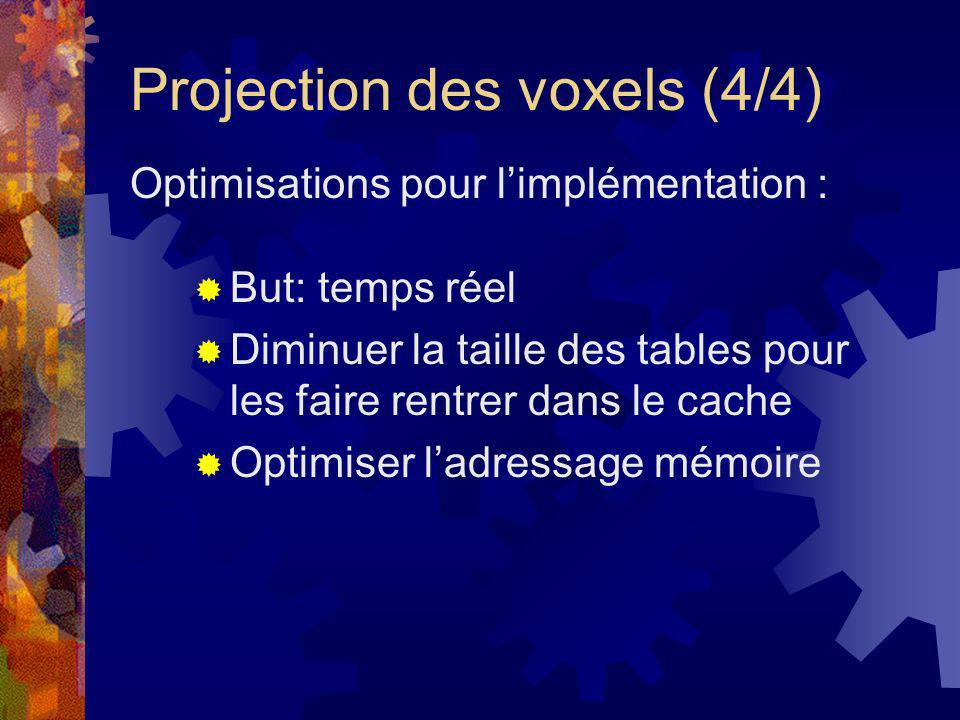 Projection des voxels (4/4)