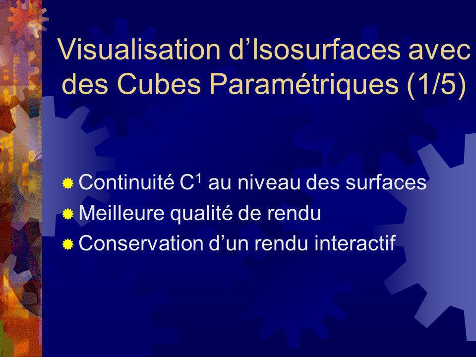 Visualisation d'Isosurfaces avec des Cubes Paramétriques (1/5)