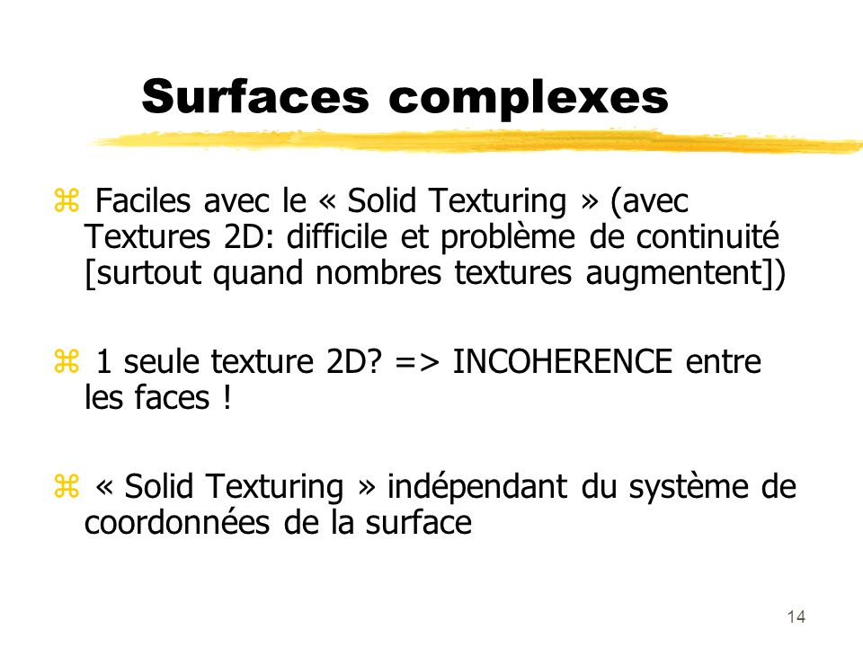 Surfaces complexes
