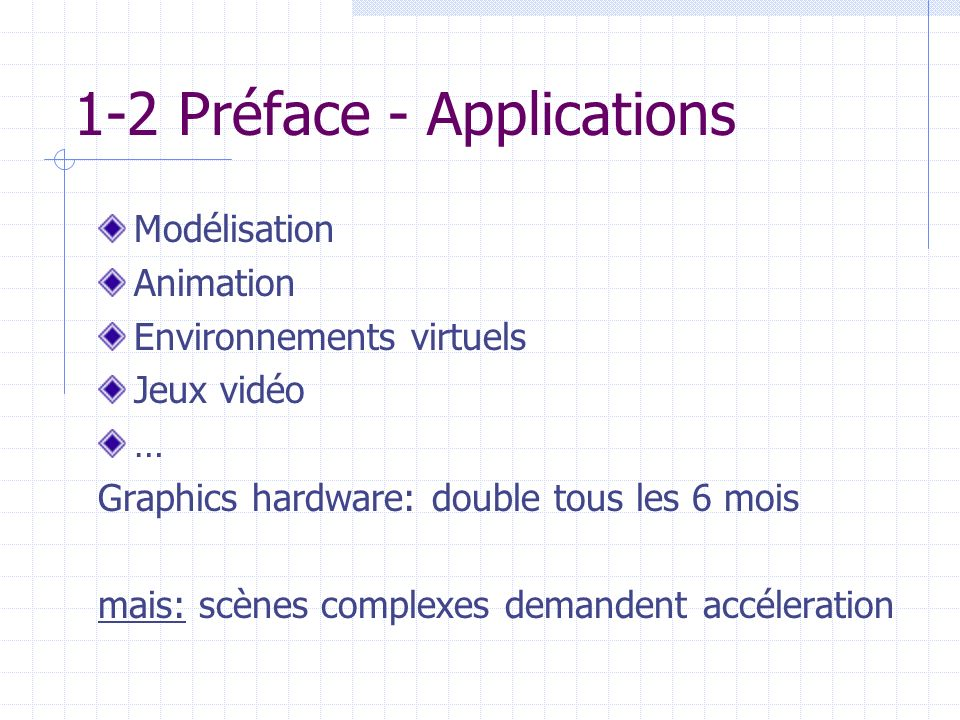 1-2 Préface - Applications