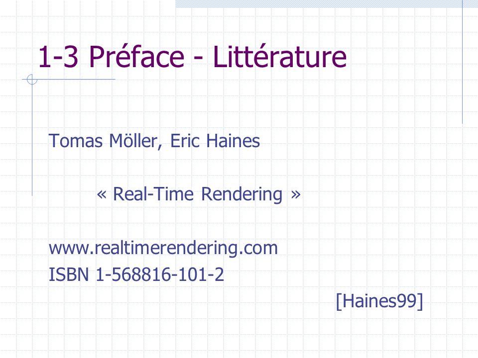 1-3 Préface - Littérature