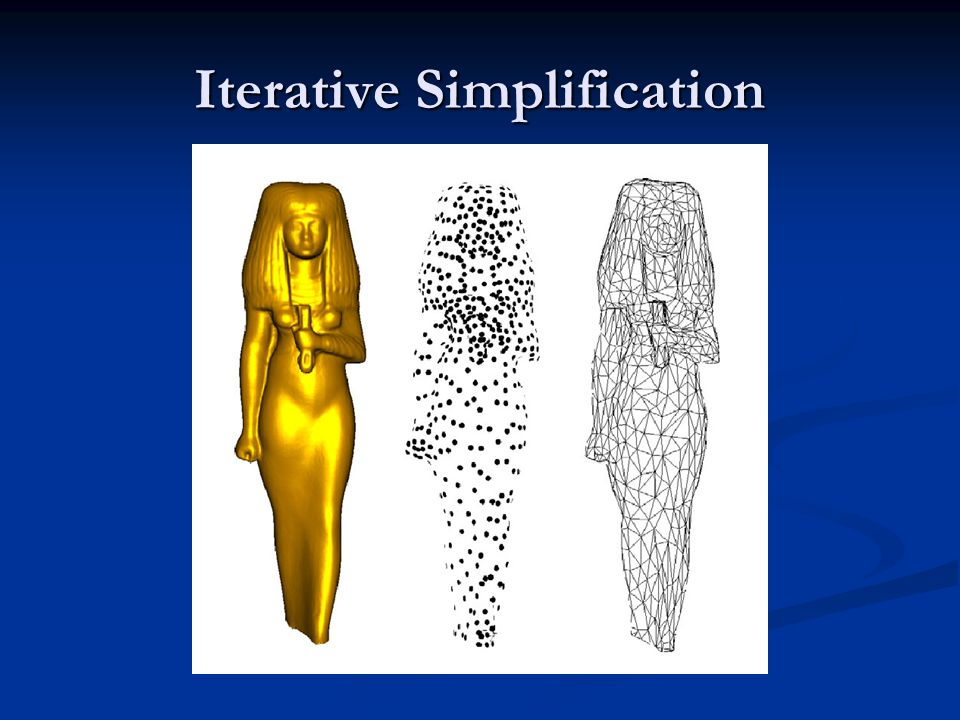 Iterative Simplification