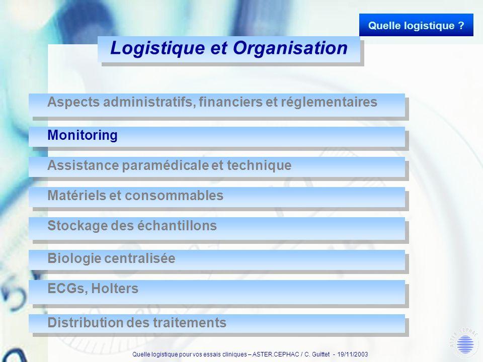 Logistique et Organisation