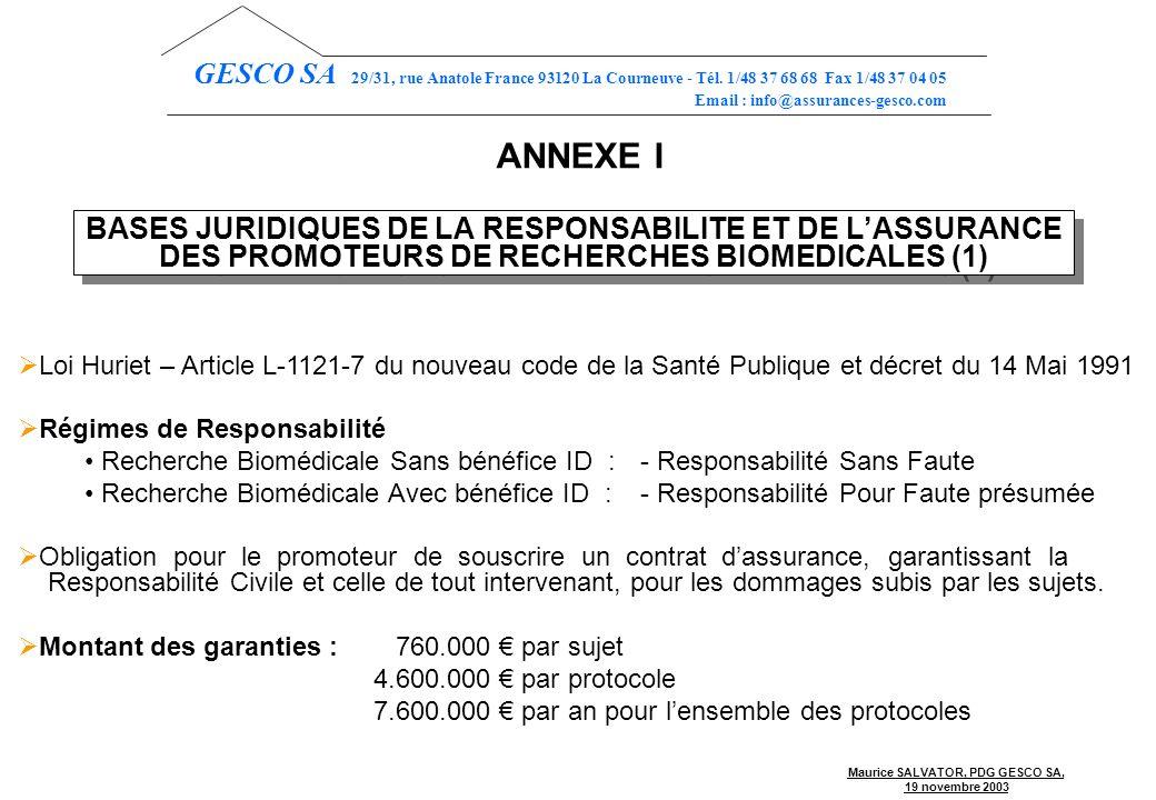 GESCO SA 29/31, rue Anatole France 93120 La Courneuve - Tél