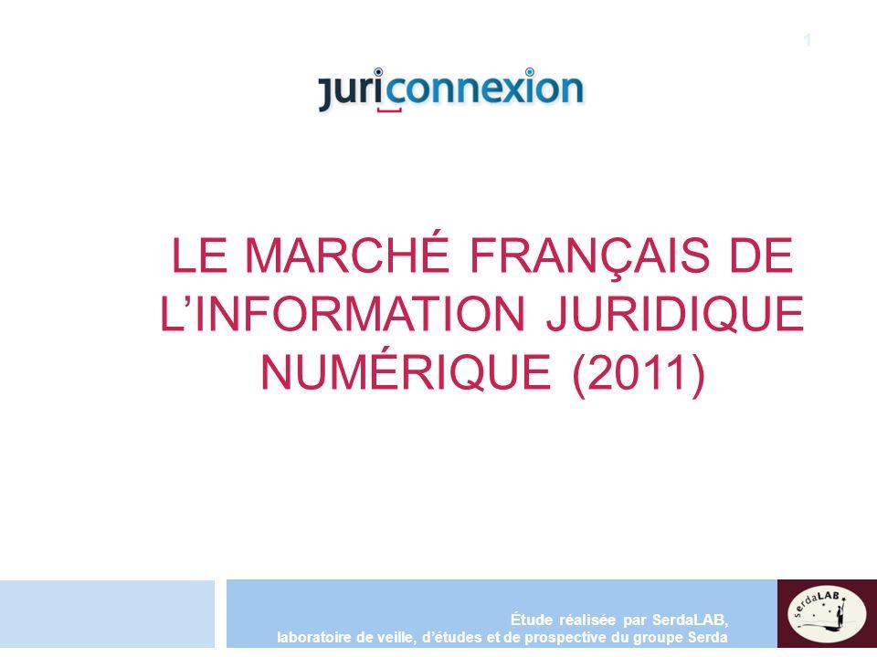 Le marché français de l'information juridique numérique (2011)