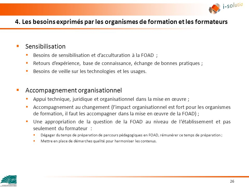 Accompagnement organisationnel
