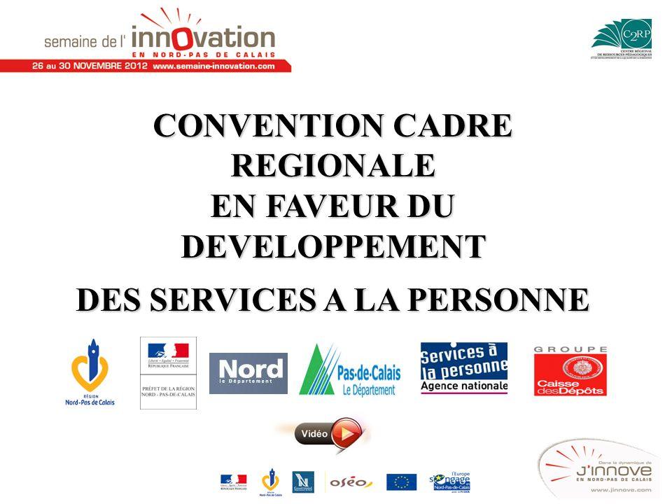 CONVENTION CADRE REGIONALE EN FAVEUR DU DEVELOPPEMENT