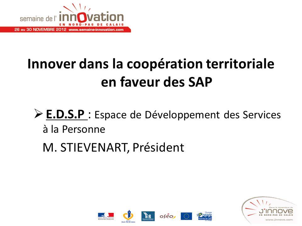 Innover dans la coopération territoriale en faveur des SAP