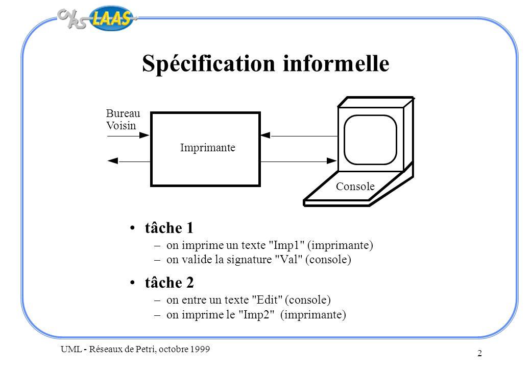 Spécification informelle