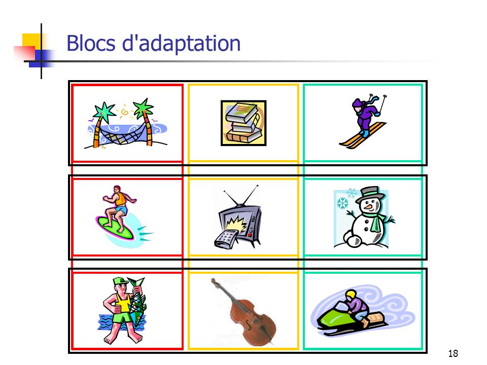 Blocs d adaptation