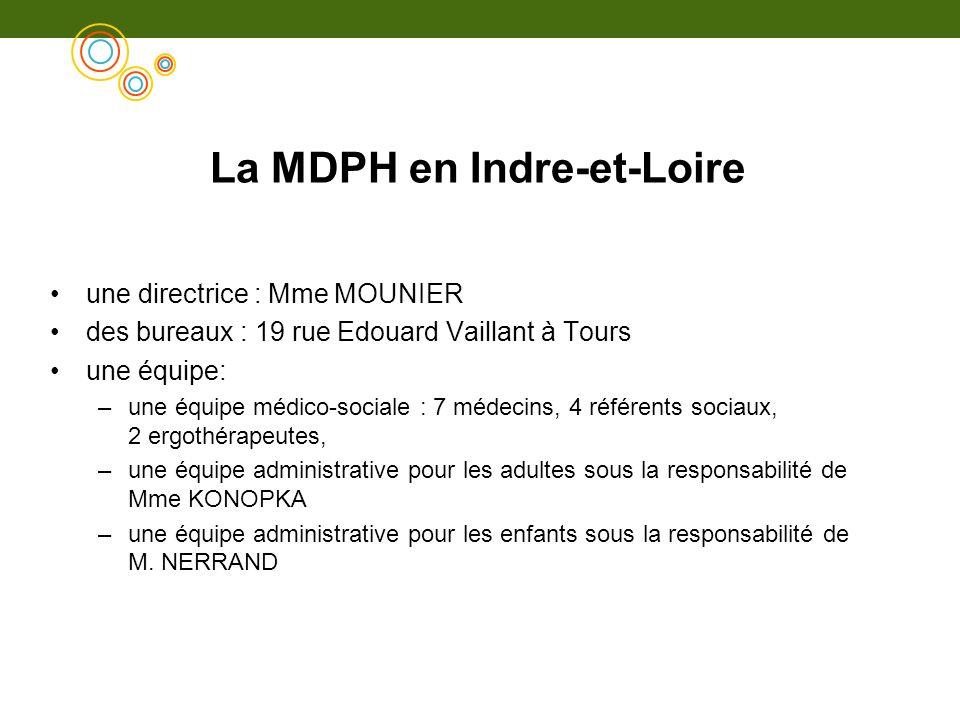 La MDPH en Indre-et-Loire