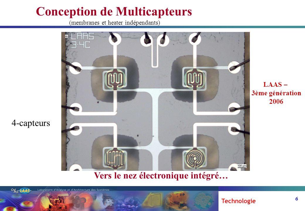 Conception de Multicapteurs