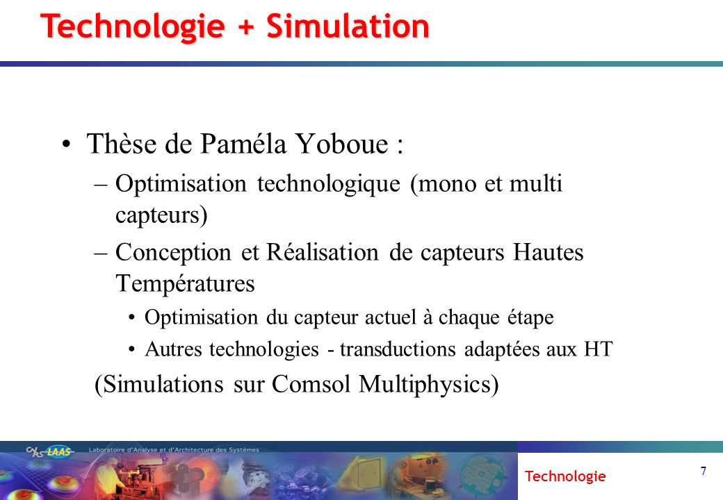 Technologie + Simulation